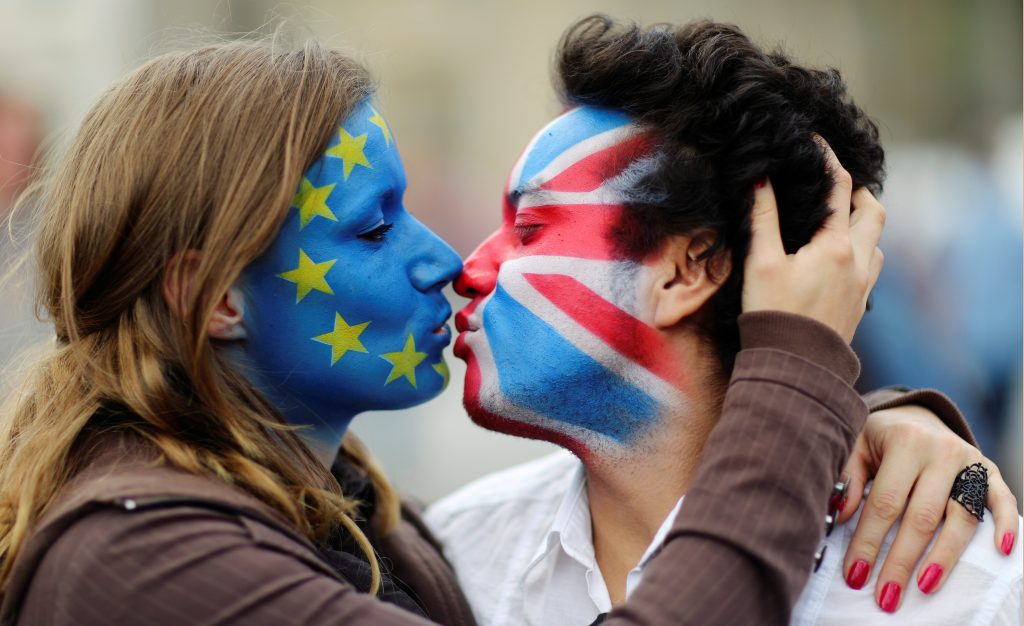 UK-UE kiss
